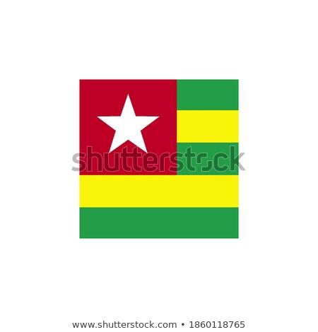 Przycisk Togo golf Pokaż banderą star Zdjęcia stock © Ustofre9