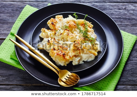 Fresh thyme on wooden table Stock photo © Kesu