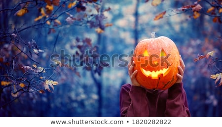 Crazy Pumpkin Stock photo © fizzgig