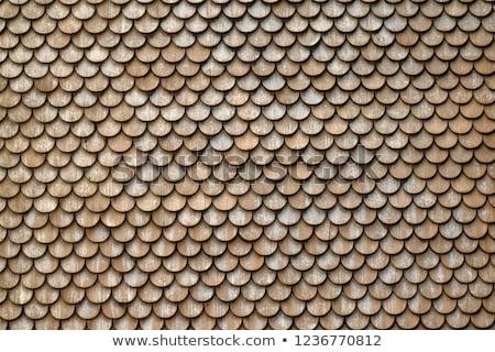 Rounded Shingles Stock photo © chrisbradshaw