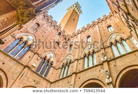 Siena Town Hall (Palazzo Comunale) Stock photo © aladin66