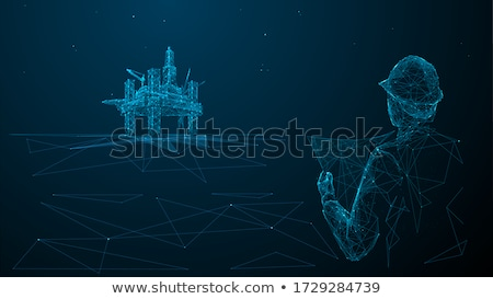 Stock photo: 3D Architects Vector