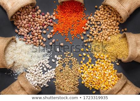 mix grains and beans Stock photo © smuki