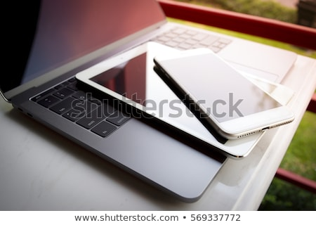 eletrônico · dispositivos · realista · ilustração · 3d · isolado · branco - foto stock © Mazirama