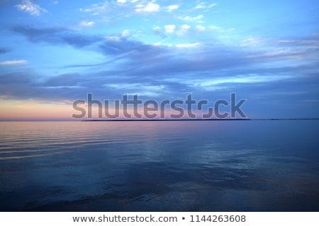 água lago mata outro lado Foto stock © taden