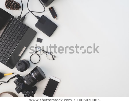 Shooting a Laptop Computer stock photo © iqoncept