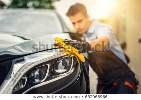 Stock photo: car valet