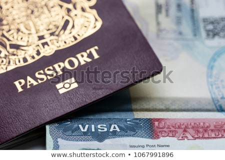 IMMIGRATION Stock photo © chrisdorney