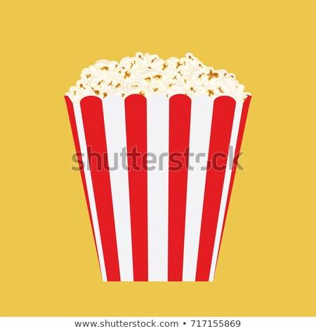 Big Fat Box of Popcorn Stock photo © songbird