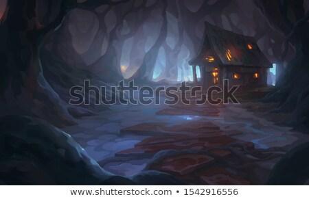 gothic burn dark stock photo © nicemonkey