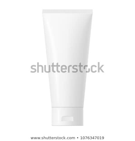 Branco tubo creme dental Foto stock © Winner