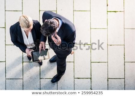表示 · かなり · ビジネス女性 · 焦点 · ビジネス · 計画 - ストックフォト © geribody