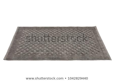 caoutchouc tapis isol salle de bain douche plastique photo stock luisa leal. Black Bedroom Furniture Sets. Home Design Ideas