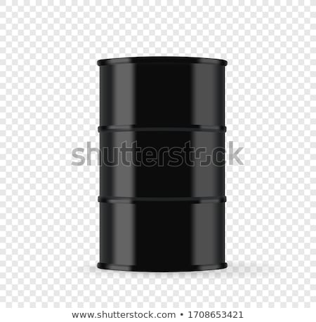 Czarny oleju refleksji działalności technologii zdrowia Zdjęcia stock © klss
