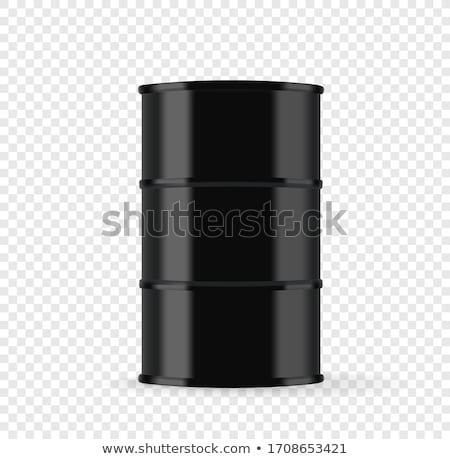 Black Oil Barrels  stock photo © klss