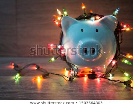 holiday savings bank stock photo © alphababy