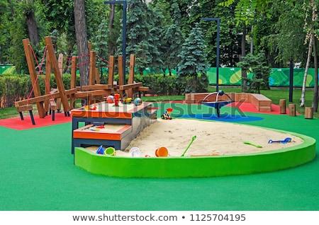 Sandbox level Stock photo © olandsfokus