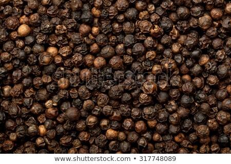 lot of black peppercorns Stock photo © Rob_Stark