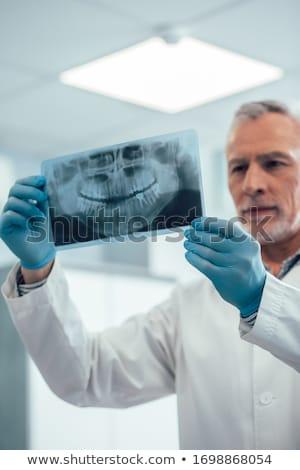Tanden slechte behoefte orthodontische medische Stockfoto © asturianu