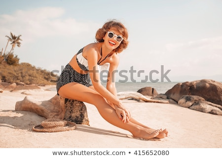Pin-up bikini. Stock photo © Fisher