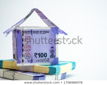 Close-up Indian One Hundred Rupee Notes Stock photo © imagedb