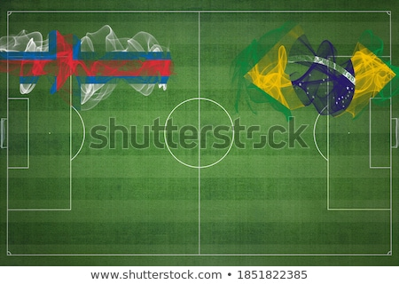 Brazil and Faroe Islands Flags  Stock photo © Istanbul2009