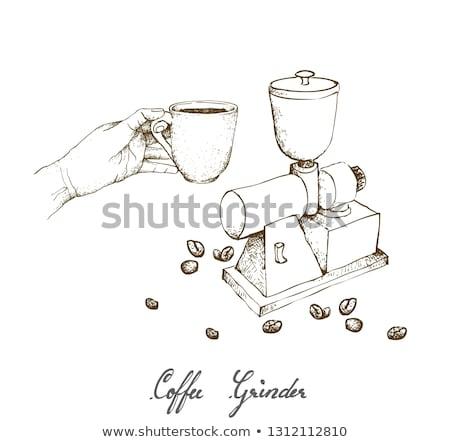 acél · fehér · étel · fekete · kés · főzés - stock fotó © frescomovie