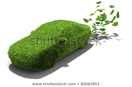 緑 · 車 · 3次元の図 · 速度 · レース · モータ - ストックフォト © make