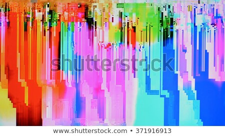 Close up of colorful background pixel pattern Stock photo © photohome