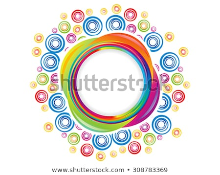 abstract rainbow magical explode Stock photo © pathakdesigner