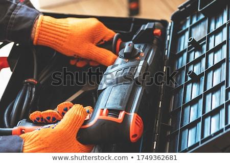 vintage · joalheiro · ferramentas · parede · trabalhando - foto stock © pedrosala