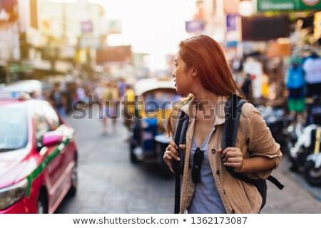 délkelet · ázsiai · lány · portré · fiatal · nő - stock fotó © szefei