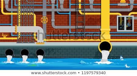 水 チャンネル クローズアップ 谷 スロバキア ストックフォト © Kayco