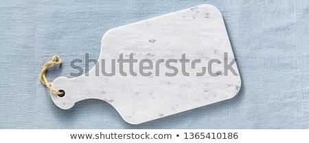 белый разделочная доска тонкий пластиковых чистой никто Сток-фото © Digifoodstock