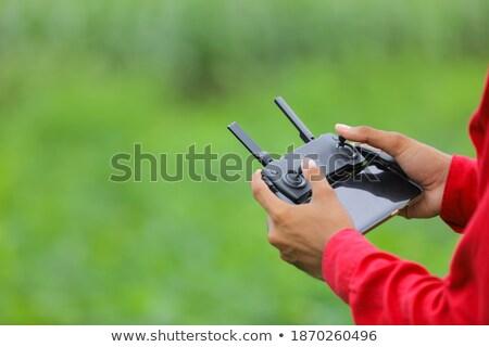 рук фермер пультом Smart сельскохозяйственный Сток-фото © stevanovicigor