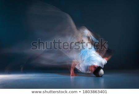 Breaktáncos fiatal táncos előad beton ahogy Stock fotó © gravityimaging
