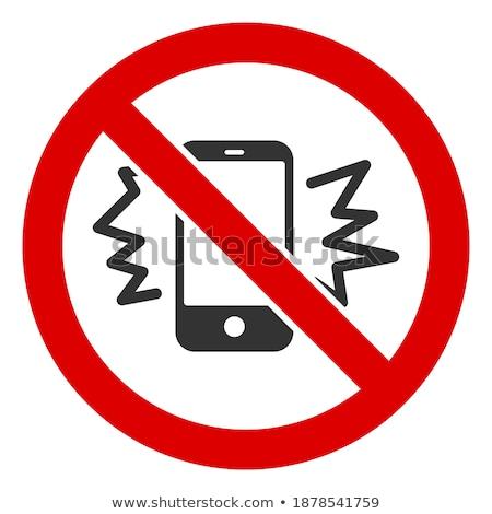 Smartphone Message Flat Raster Icon Stock photo © ahasoft
