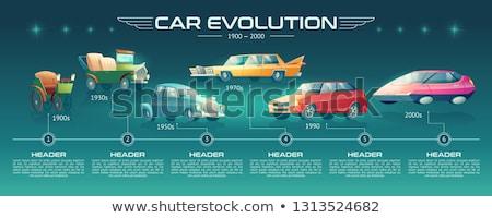 Cars history Stock photo © Yuriy