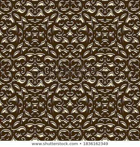 vektor · arany · végtelenített · végtelen · minta · divat · absztrakt - stock fotó © yopixart