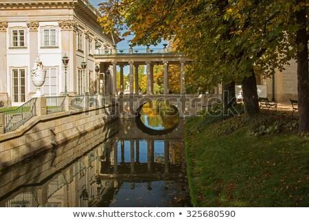 Koninklijk paleis Warschau Polen laatste koning Stockfoto © neirfy