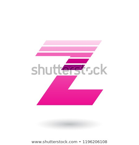 マゼンタ 文字z 水平な ベクトル ストックフォト © cidepix