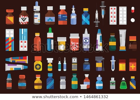 isolado · analgésico · pílulas - foto stock © robuart