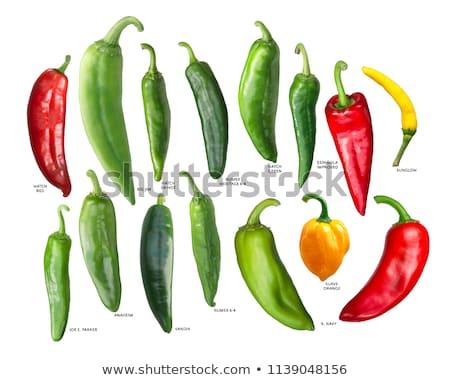 Numex Espanola Improved peppers Stock photo © maxsol7