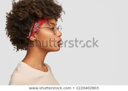 portrait of a contemplated female student stock photo © andreypopov