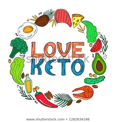 Keto Ketogenic Diet Stock photo © Lightsource