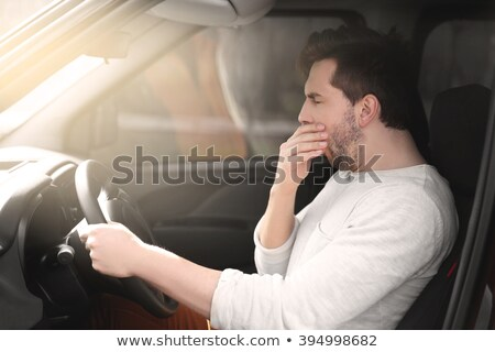 driver sleeps in a car Stock photo © vladacanon