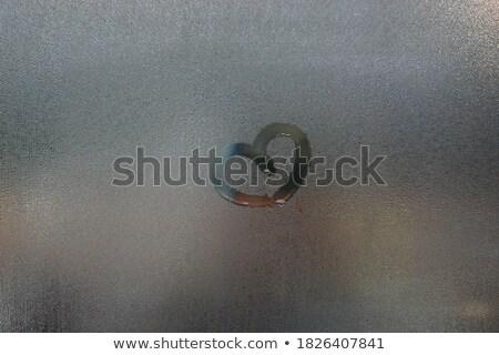 Cuori precipitazioni san valentino abstract cuore design Foto d'archivio © SArts