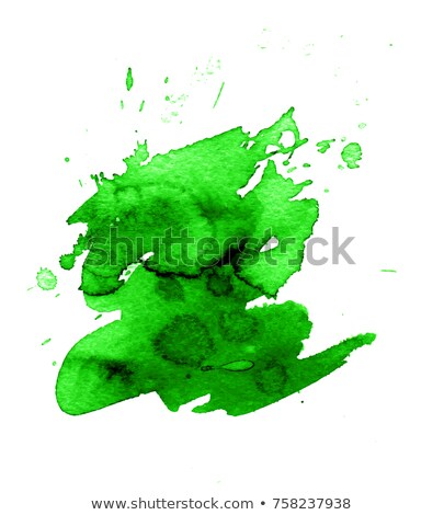 banner with green blobs white background stock photo © adamson