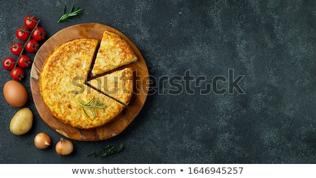 картофель один типичный Испания обеда Сток-фото © guillermo
