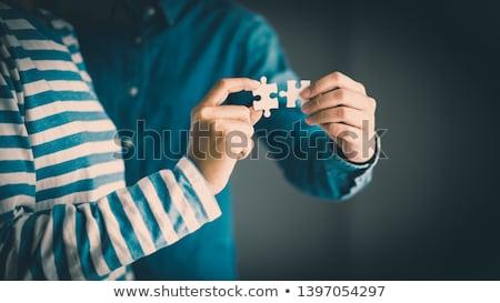 人 右 アイデア 3dの人 ノートパソコン 座って ストックフォト © 6kor3dos